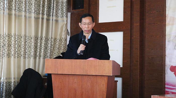 胡顺开同志以全票当选雅大智能科技科协第一届委员会主席