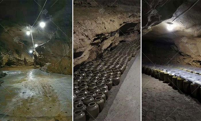 引进大型酿酒设备,酒旅融合,依托溶洞优势资源打造特色洞藏酒 6