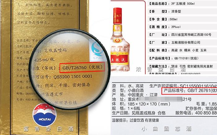 6.8中国白酒执行标准