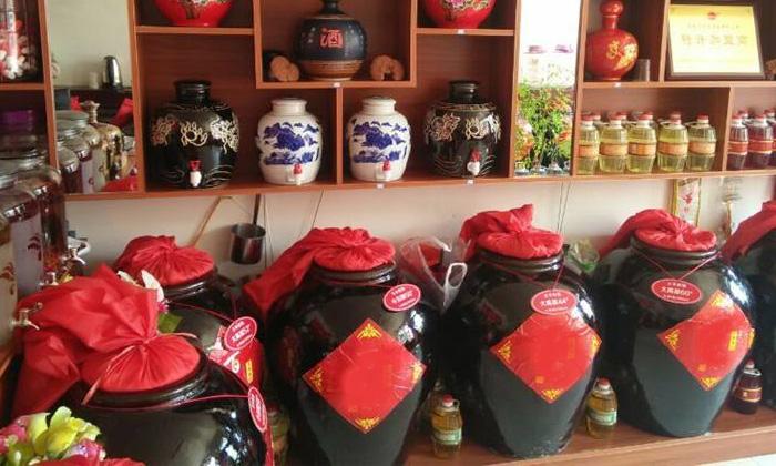 9.12用蒸汽酿酒设备酿造的纯粮散酒市场前景大