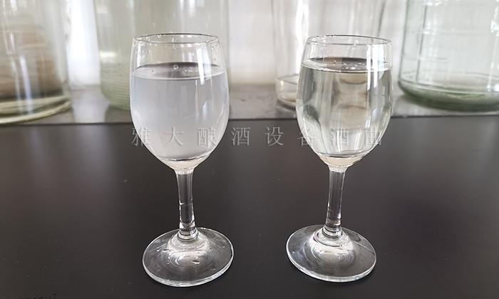 2.24低度酒若酸类物质含量适中,就不会有水味