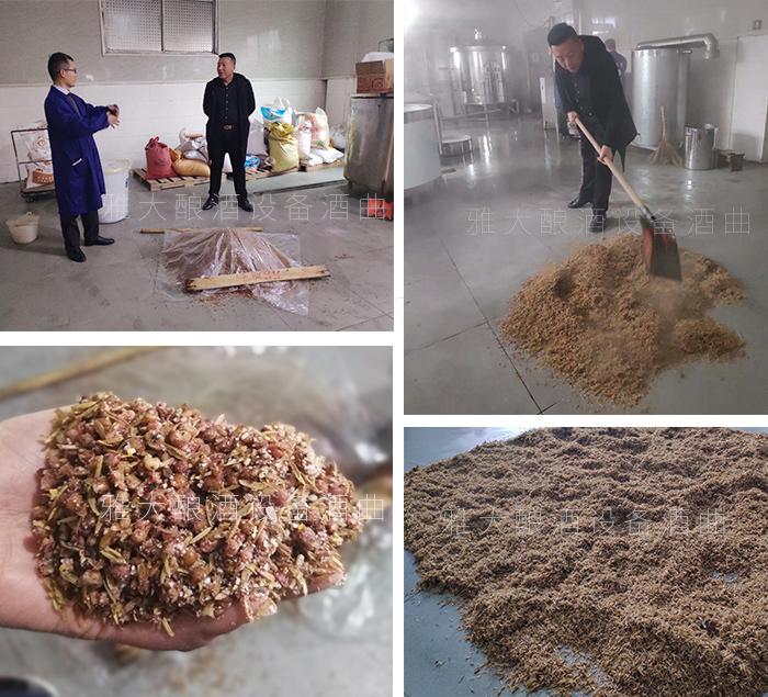 11.17雅大蒋老师教学员用混蒸混烧工艺做五粮酒