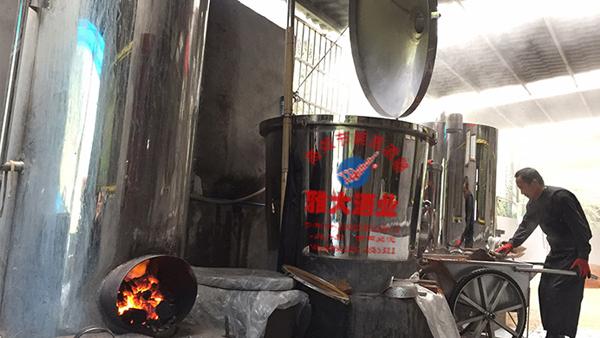 雅大200斤不锈钢酿酒设备