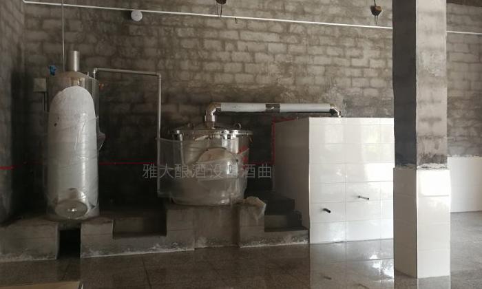 500斤侧开口固态酿酒设备安家重庆
