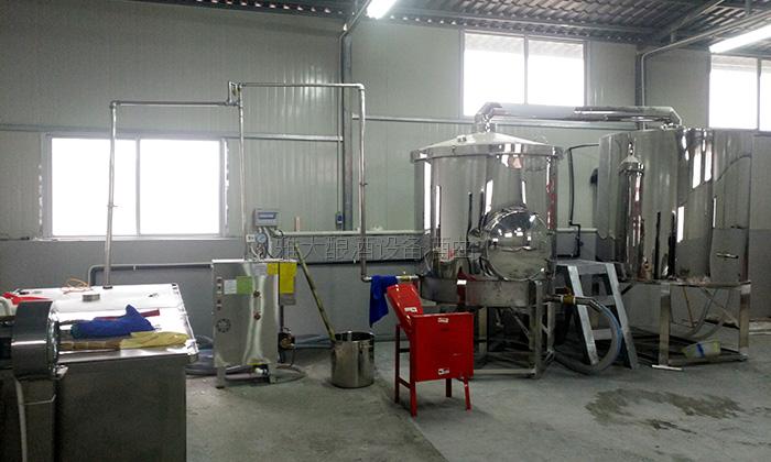 10.21 800斤电加热酿酒设备