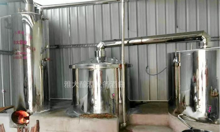 5.29柴煤锅炉酿酒设备
