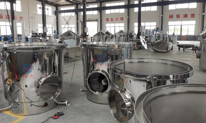 不锈钢酿酒设备厂新厂房