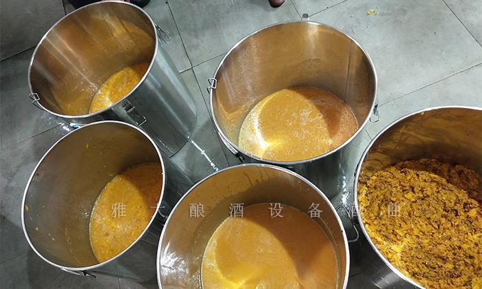 11.27雪莲果酒发酵